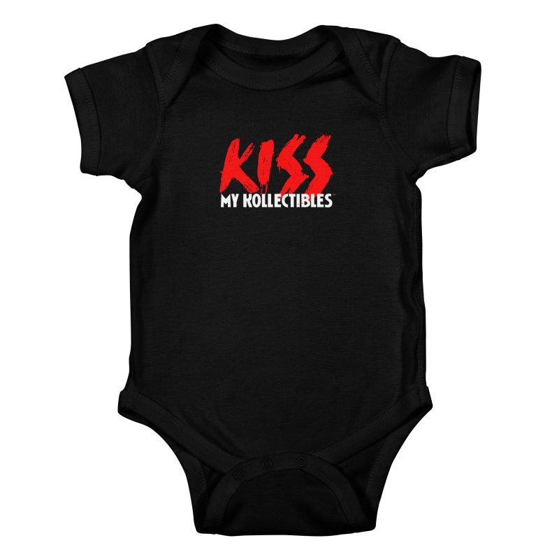 Kiss My Kollectibles Kids Baby Bodysuit by Klick Tee Shop