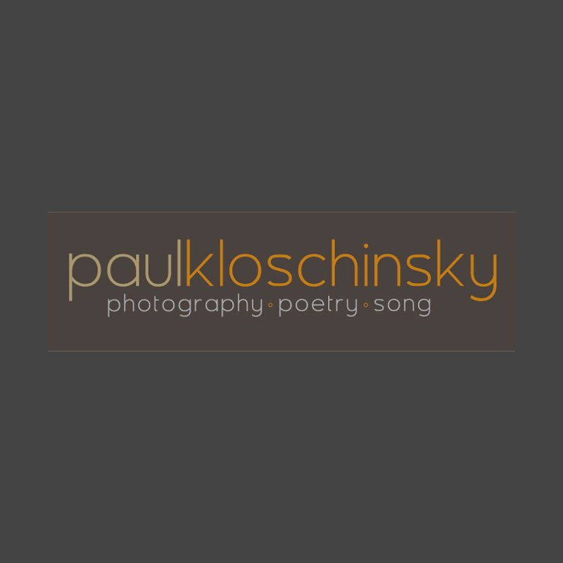 Paul Kloschinsky Logo Merchandise by kloschinsky's Artist Shop