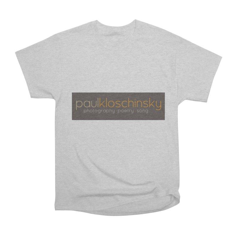 Paul Kloschinsky Logo Merchandise Men's T-Shirt by kloschinsky's Artist Shop