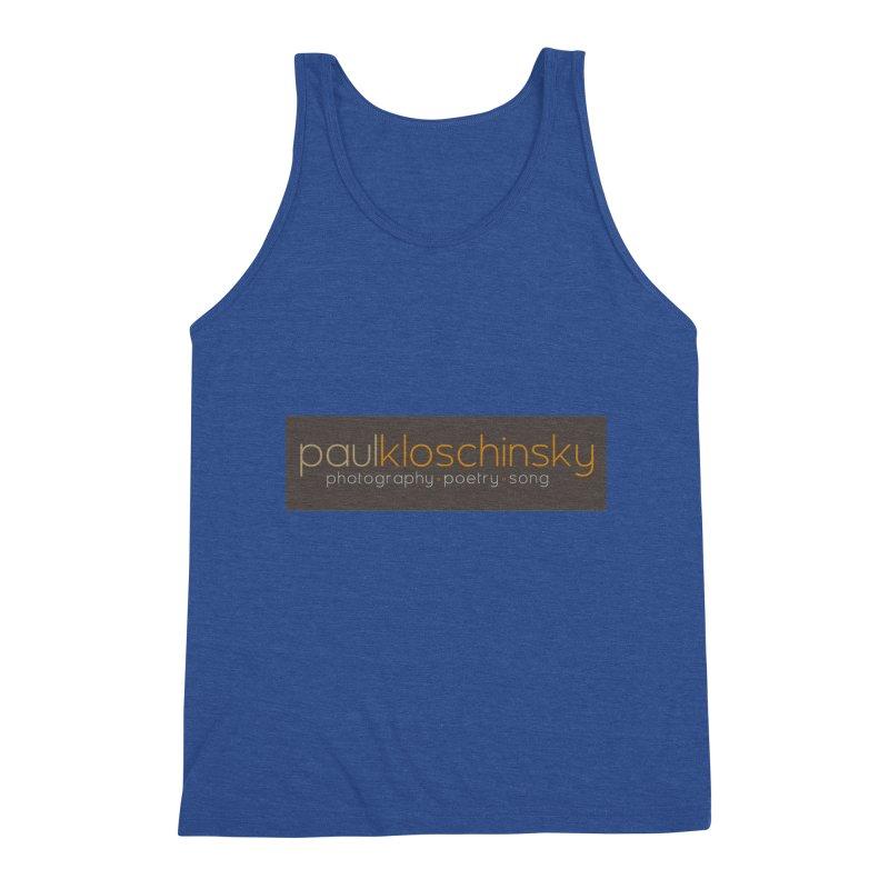 Paul Kloschinsky Logo Merchandise Men's Tank by kloschinsky's Artist Shop