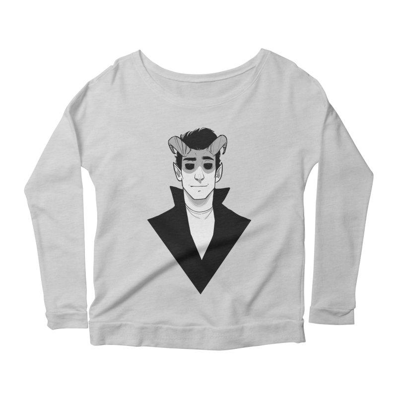 Thatch Women's Scoop Neck Longsleeve T-Shirt by The Shop of K. Lynn Smith