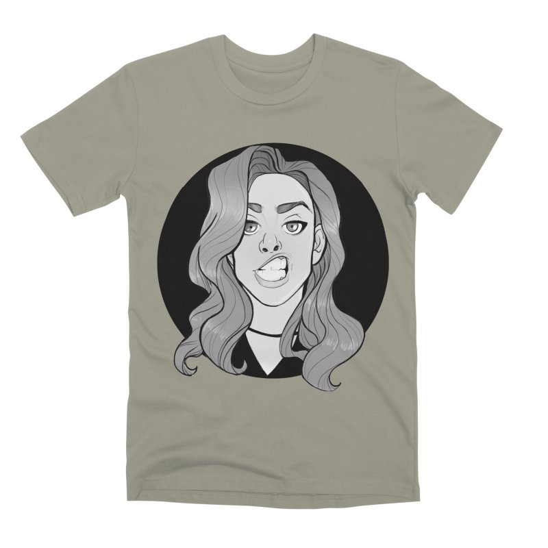The Sneer Men's Premium T-Shirt by The Shop of K. Lynn Smith