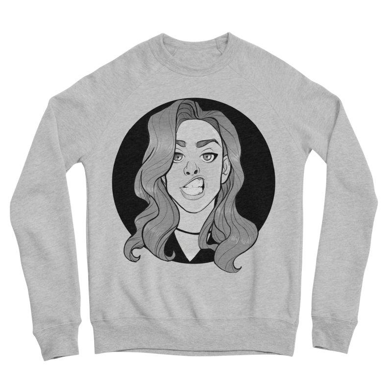The Sneer Men's Sponge Fleece Sweatshirt by The Shop of K. Lynn Smith
