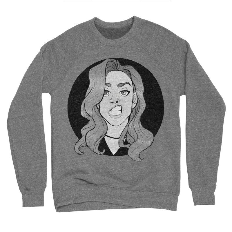 The Sneer Women's Sponge Fleece Sweatshirt by The Shop of K. Lynn Smith