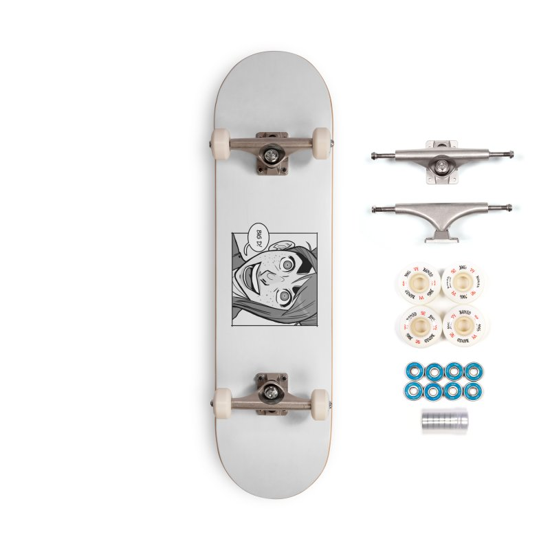 Big D! Accessories Complete - Premium Skateboard by The Shop of K. Lynn Smith