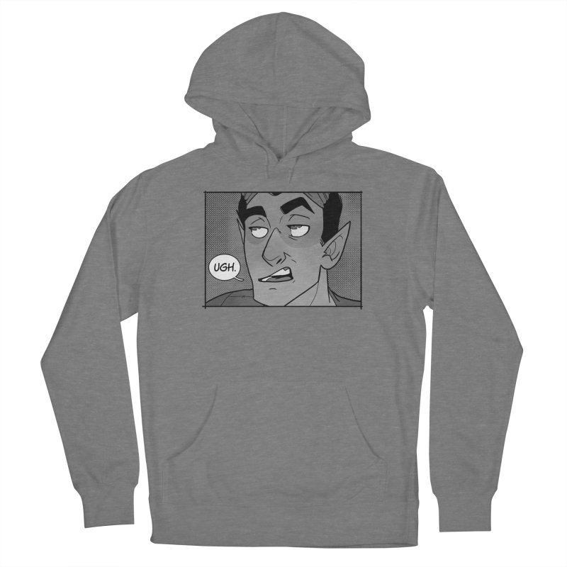 Ugh. Men's French Terry Pullover Hoody by The Shop of K. Lynn Smith