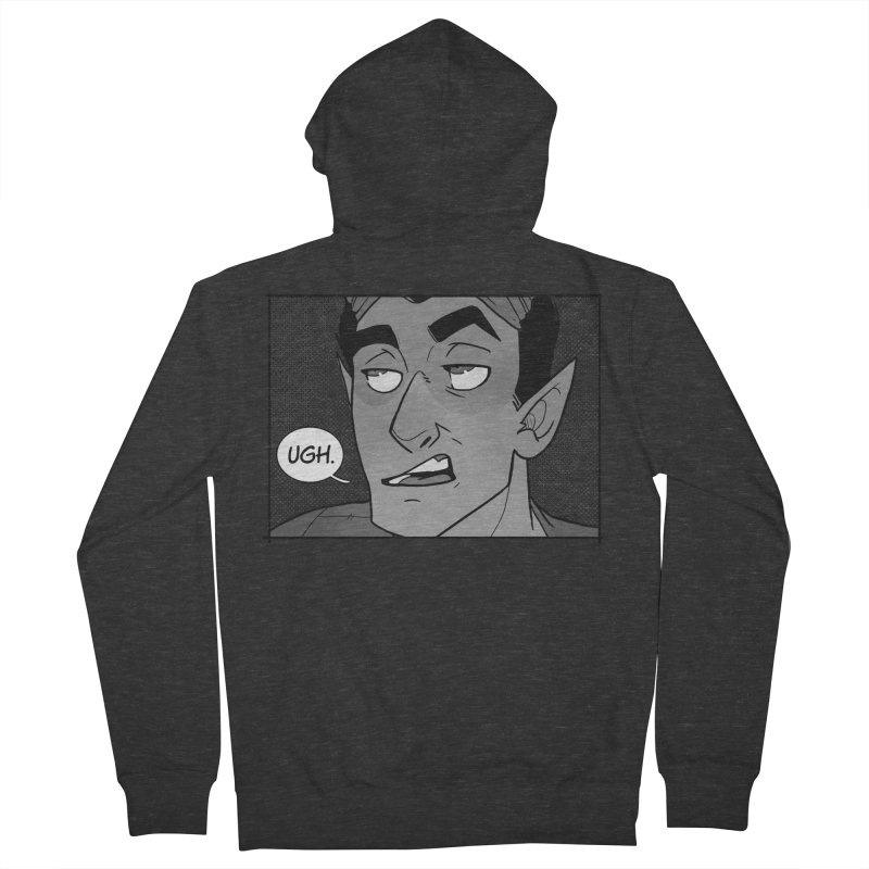 Ugh. Men's French Terry Zip-Up Hoody by The Shop of K. Lynn Smith