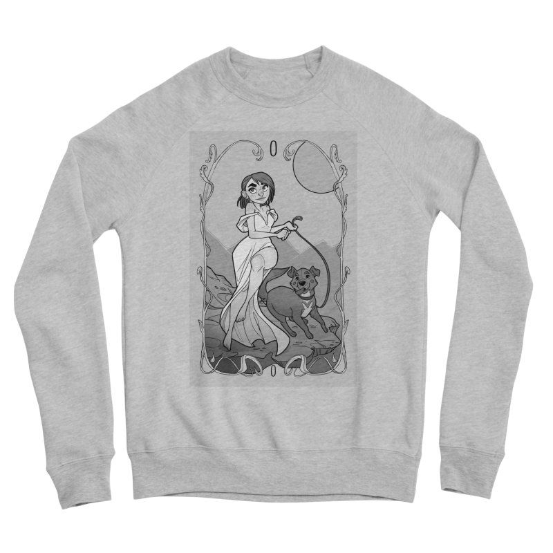 The Fool Women's Sponge Fleece Sweatshirt by The Shop of K. Lynn Smith