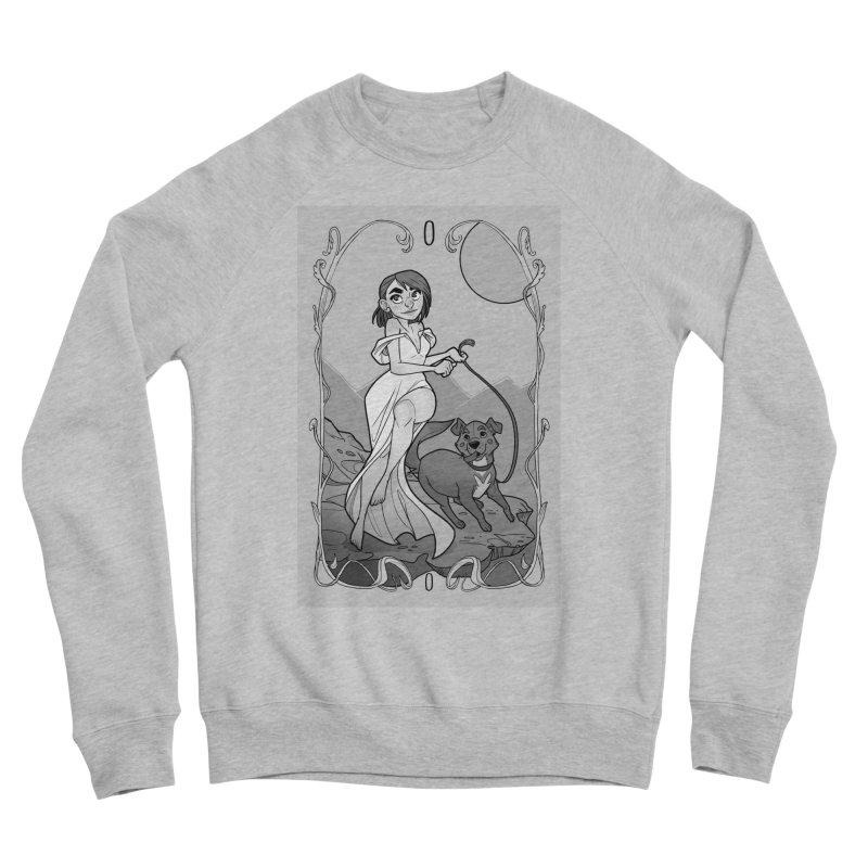 The Fool Men's Sponge Fleece Sweatshirt by The Shop of K. Lynn Smith