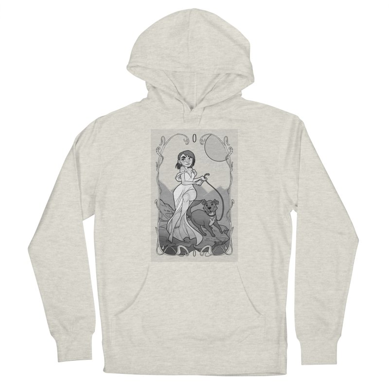 The Fool Men's French Terry Pullover Hoody by The Shop of K. Lynn Smith