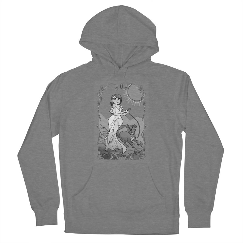 The Fool Women's French Terry Pullover Hoody by The Shop of K. Lynn Smith