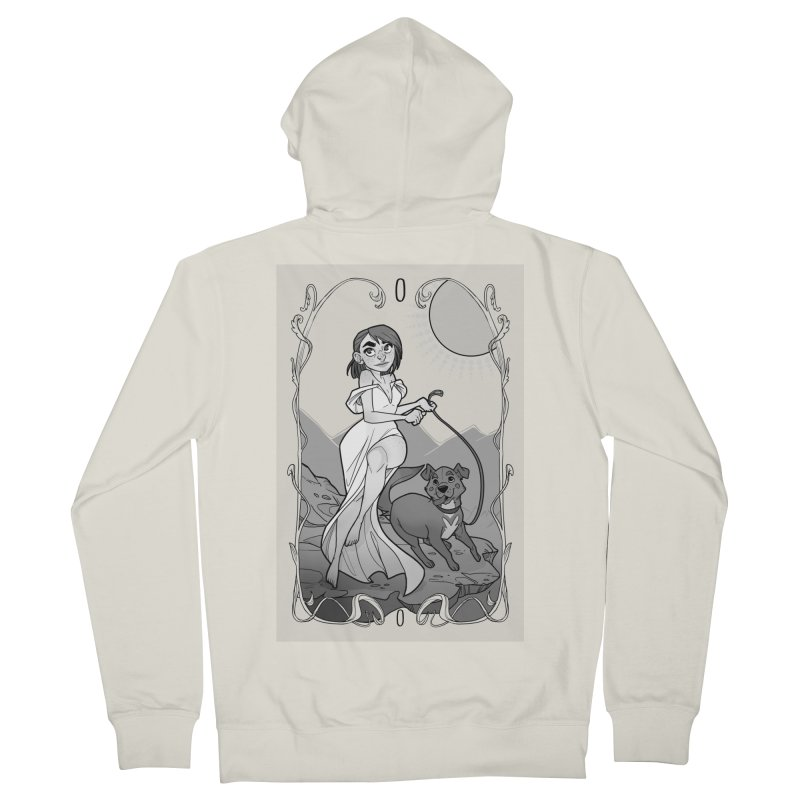 The Fool Women's French Terry Zip-Up Hoody by The Shop of K. Lynn Smith