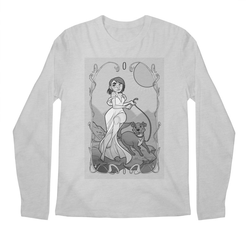 The Fool Men's Regular Longsleeve T-Shirt by The Shop of K. Lynn Smith
