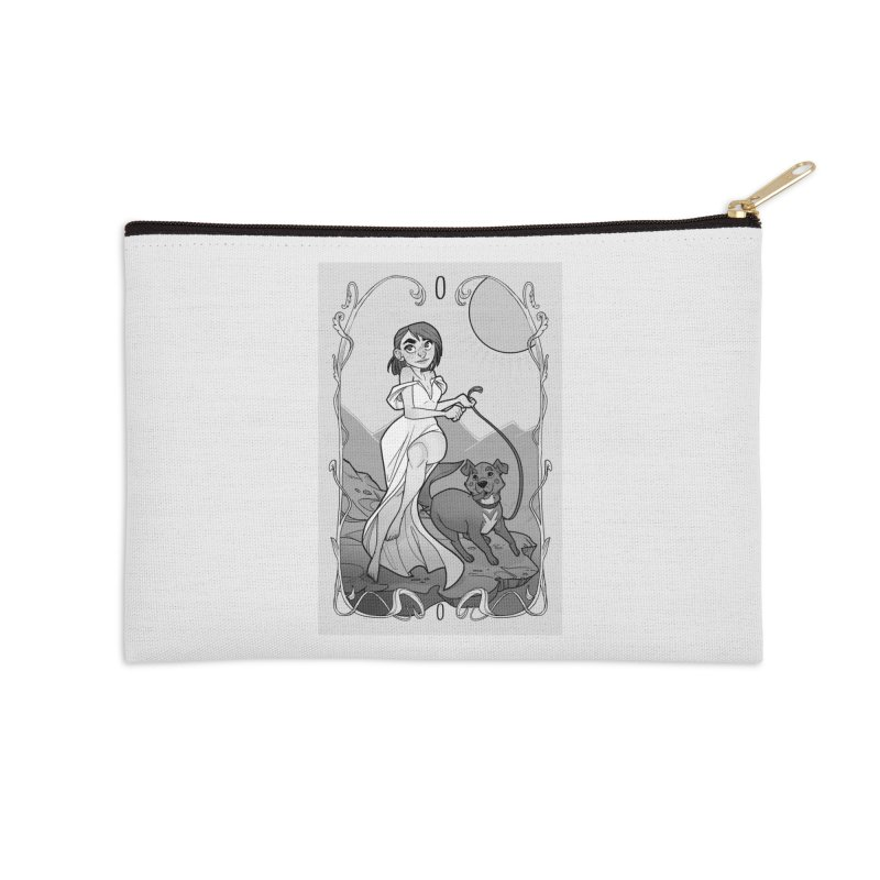 The Fool Accessories Zip Pouch by The Shop of K. Lynn Smith