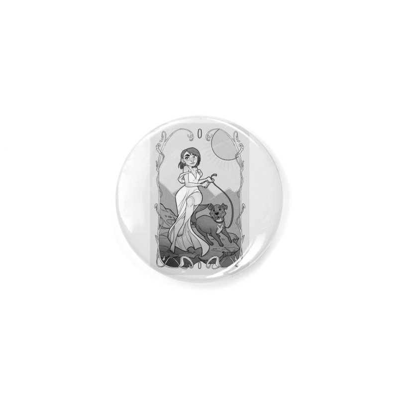 The Fool Accessories Button by The Shop of K. Lynn Smith
