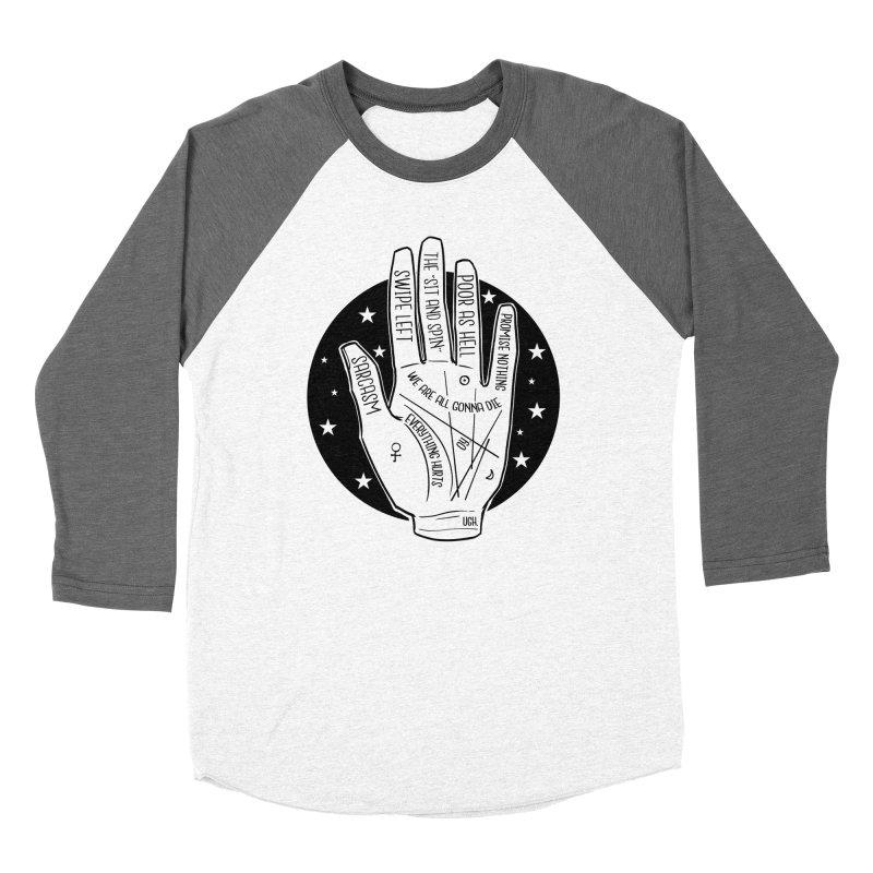 Talk to the Hand Women's Baseball Triblend Longsleeve T-Shirt by The Shop of K. Lynn Smith