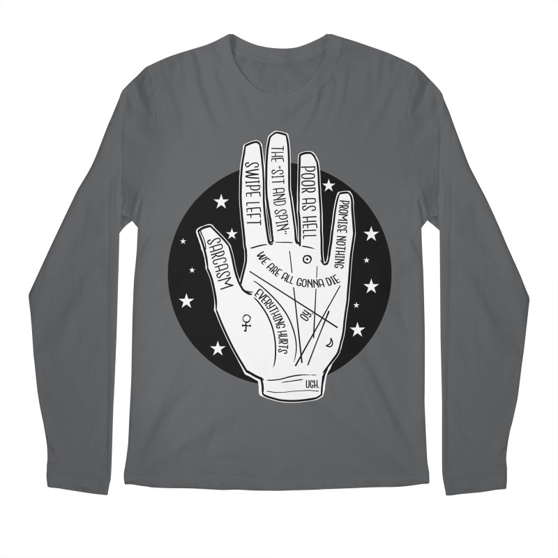 Talk to the Hand Men's Regular Longsleeve T-Shirt by The Shop of K. Lynn Smith
