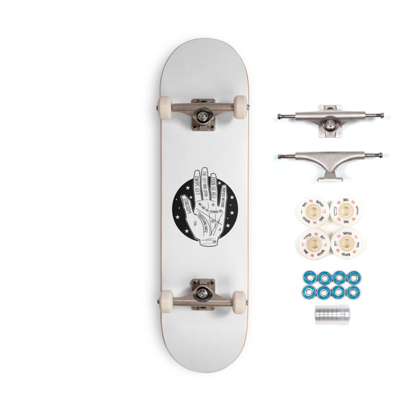 Talk to the Hand Accessories Complete - Premium Skateboard by The Shop of K. Lynn Smith