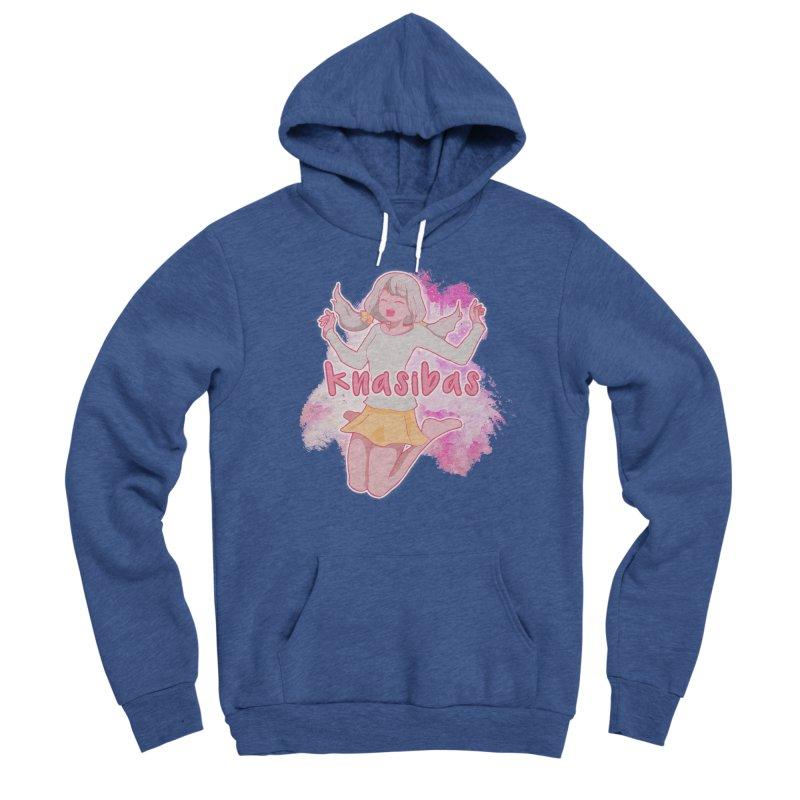 Knasibas - SAD in Men's Sponge Fleece Pullover Hoody Heather Royal by knasibas's Artist Shop
