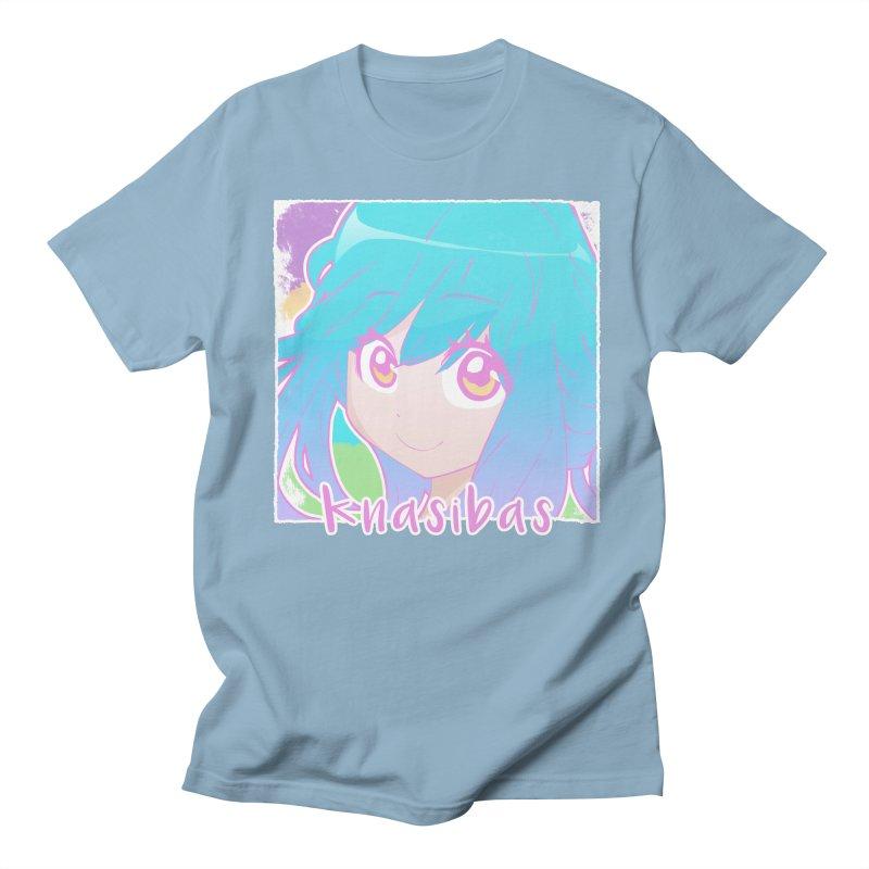 Knasibas - Our Best in Men's Regular T-Shirt Light Blue by knasibas's Artist Shop