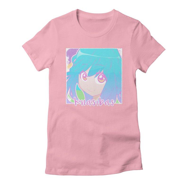 Knasibas - Our Best in Women's Fitted T-Shirt Light Pink by knasibas's Artist Shop