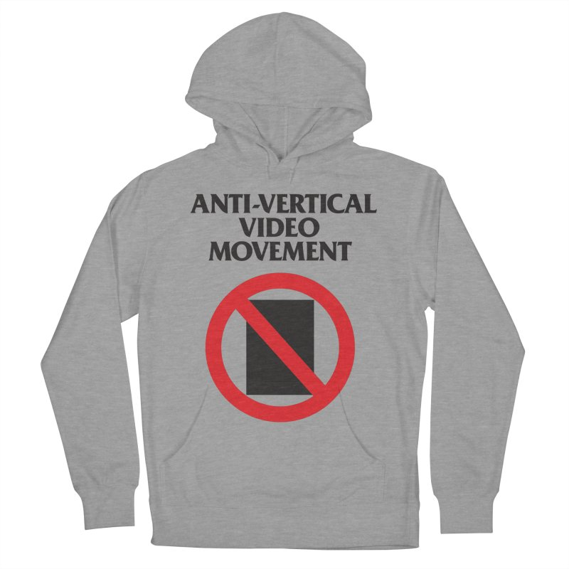Anti-Vertical Video Movement Women's Pullover Hoody by KNIVED COMPLEX