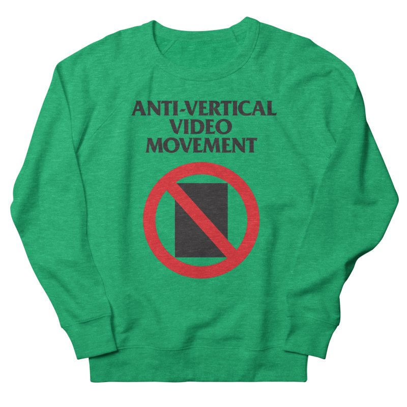 Anti-Vertical Video Movement Men's Sweatshirt by KNIVED COMPLEX