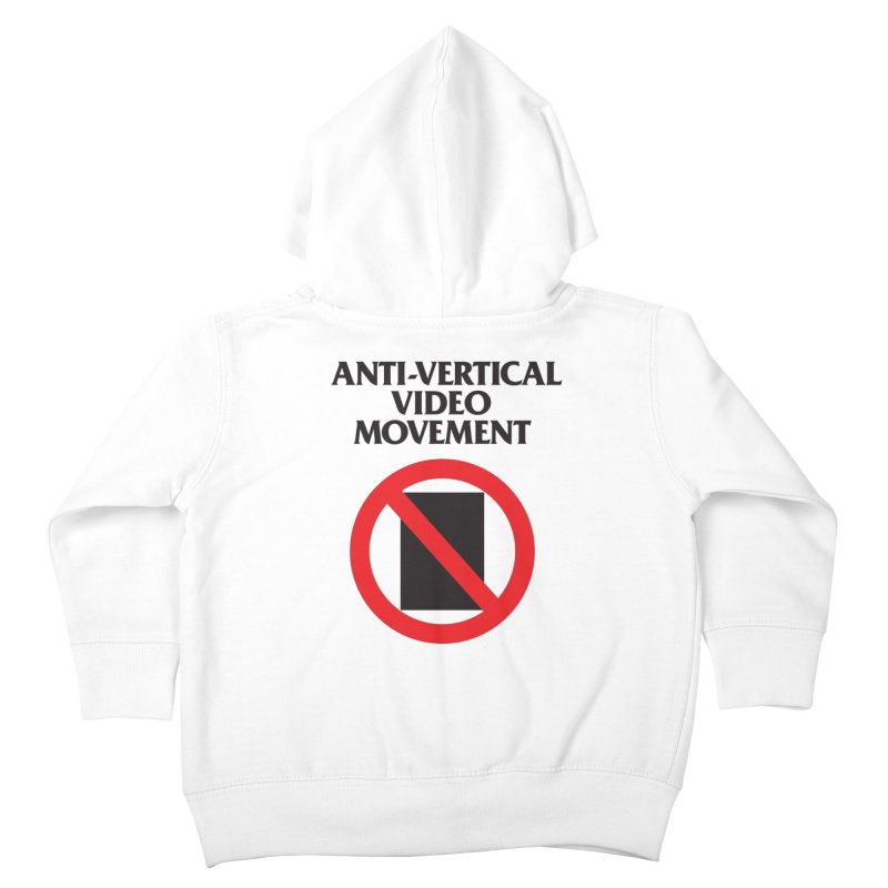 Anti-Vertical Video Movement Kids Toddler Zip-Up Hoody by KNIVED COMPLEX