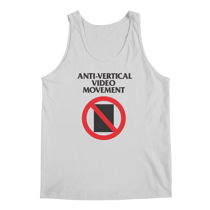 Anti-Vertical Video Movement Men's Tank by KNIVED COMPLEX