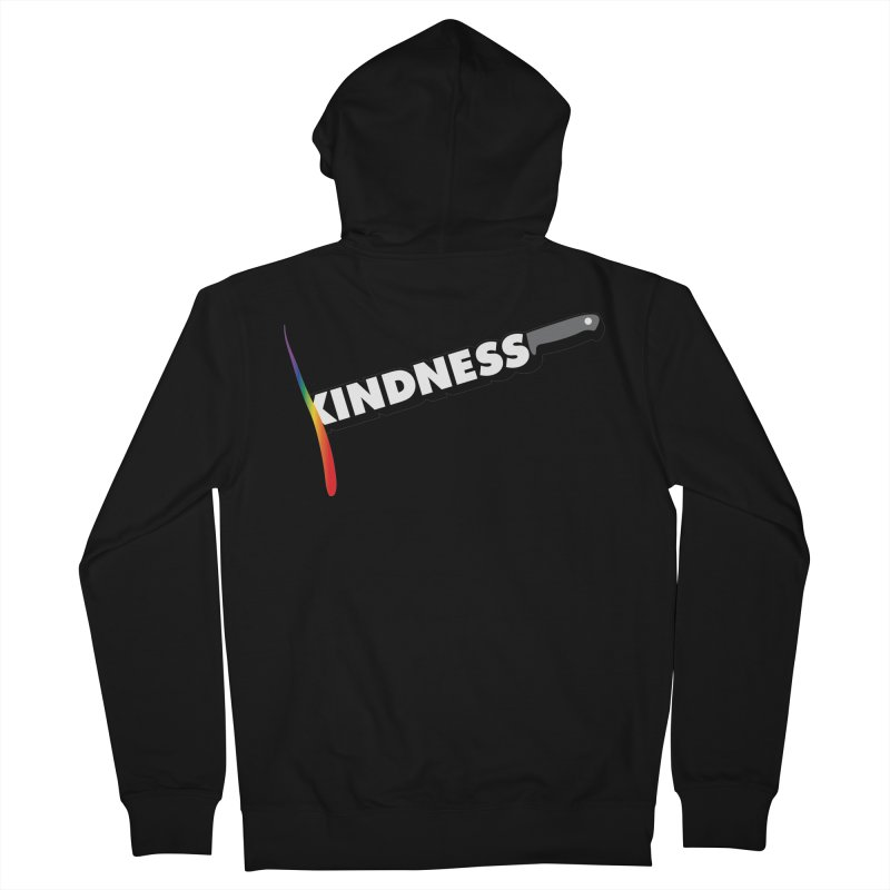 Kill Them With Kindness Men's Zip-Up Hoody by KNIVED COMPLEX