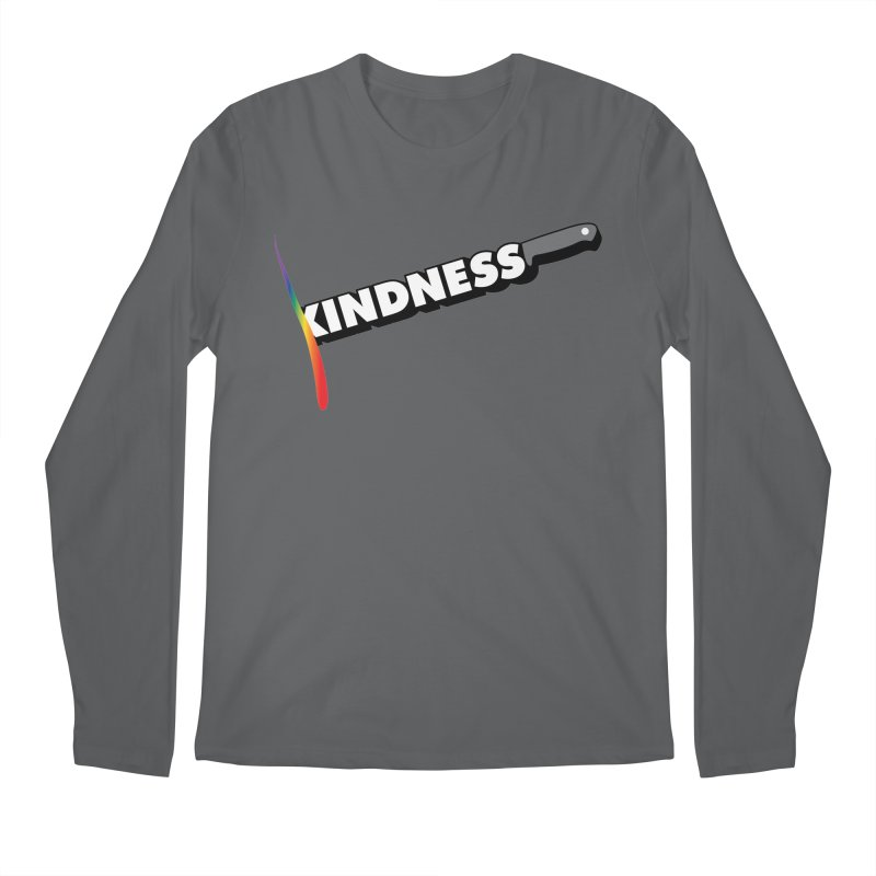 Kill Them With Kindness Men's Longsleeve T-Shirt by KNIVED COMPLEX