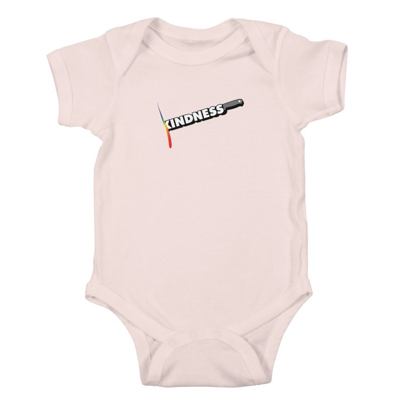 Kill Them With Kindness Kids Baby Bodysuit by KNIVED COMPLEX