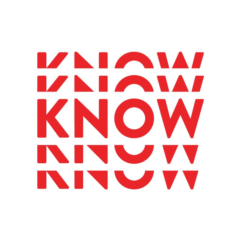KNOW New Friends (Red) Accessories Button by KNOW Identity