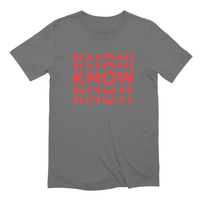 KNOW New Friends (Red) Men's T-Shirt by KNOW Identity
