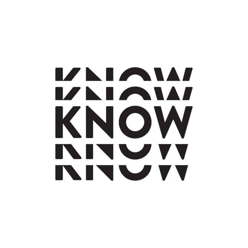 KNOW New Friends (Black) Accessories Bag by KNOW Identity