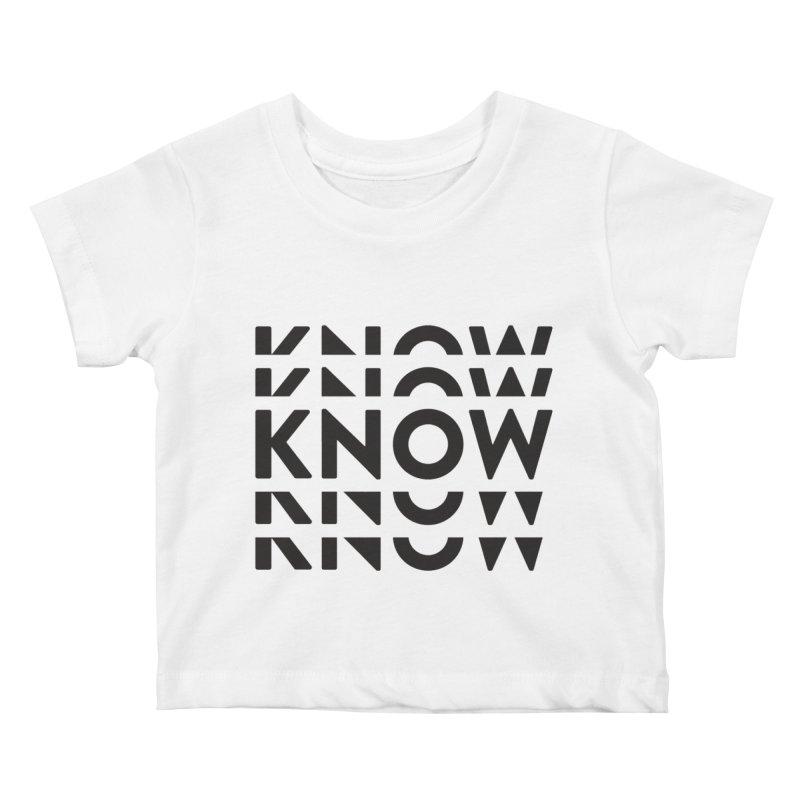 KNOW New Friends (Black) Kids Baby T-Shirt by KNOW Identity