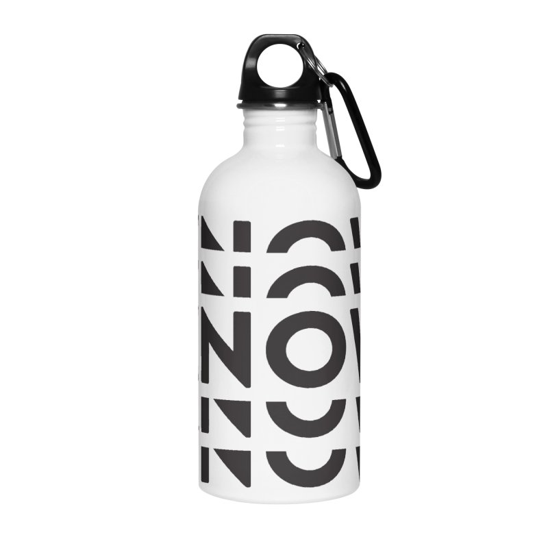 KNOW New Friends (Black) Accessories Water Bottle by KNOW Identity