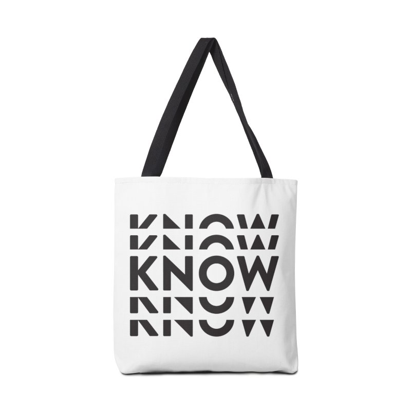 KNOW New Friends (Black) Accessories Tote Bag Bag by KNOW Identity
