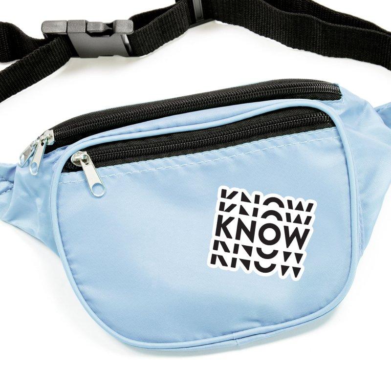KNOW New Friends (Black) Accessories Sticker by KNOW Identity