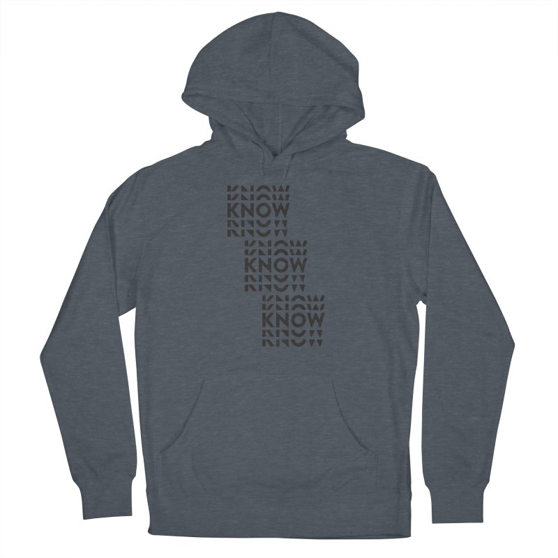 You Oughta KNOW Women's French Terry Pullover Hoody by KNOW Identity