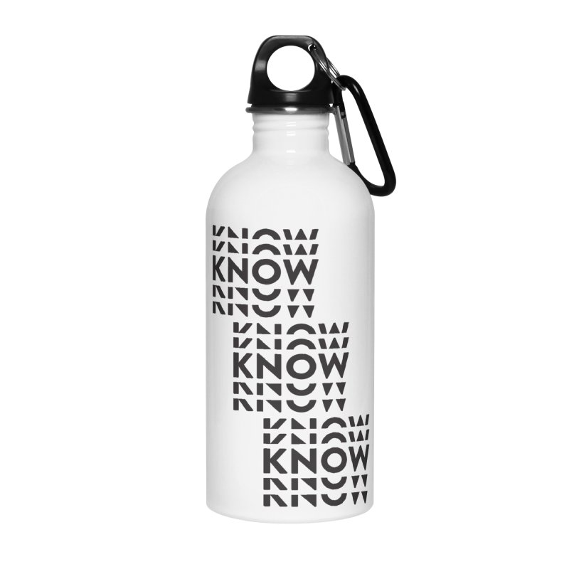 You Oughta KNOW Accessories Water Bottle by KNOW Identity