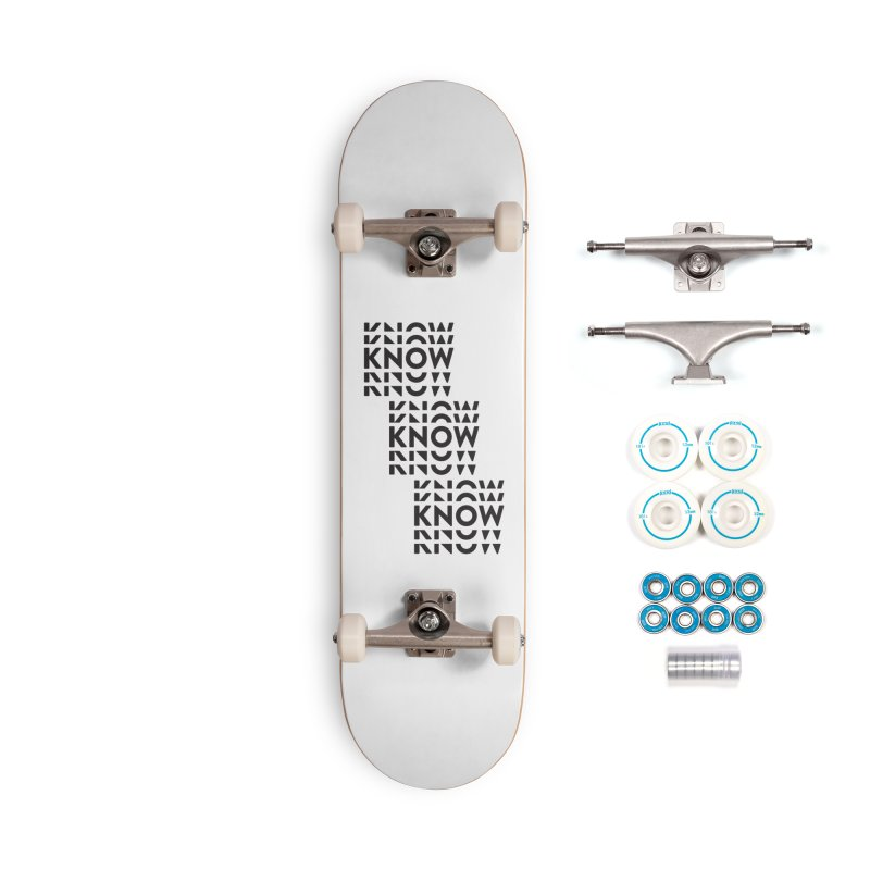 You Oughta KNOW Accessories Complete - Basic Skateboard by KNOW Identity