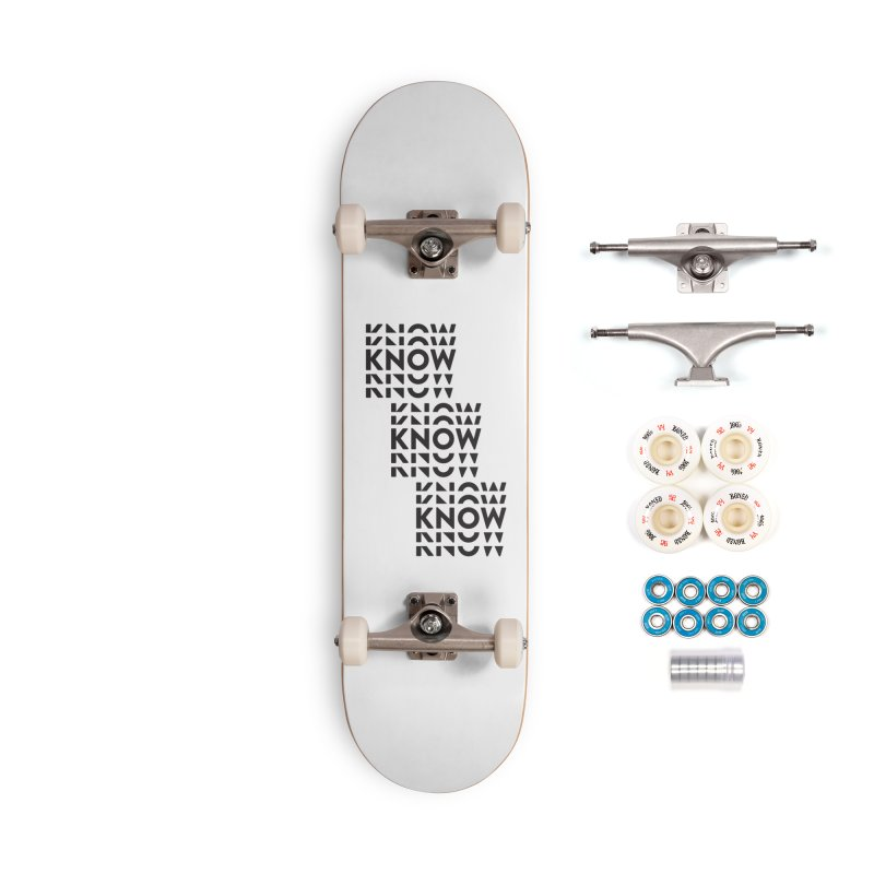 You Oughta KNOW Accessories Complete - Premium Skateboard by KNOW Identity