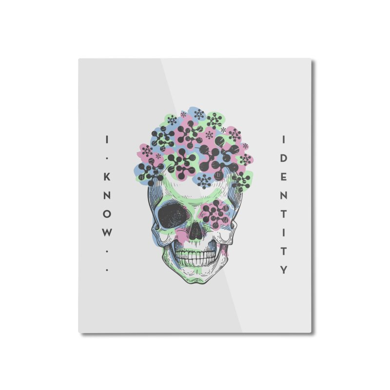 The Devil You KNOW (Color) Home Mounted Aluminum Print by KNOW Identity