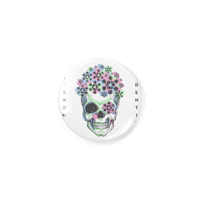 The Devil You KNOW (Color) Accessories Button by KNOW Identity