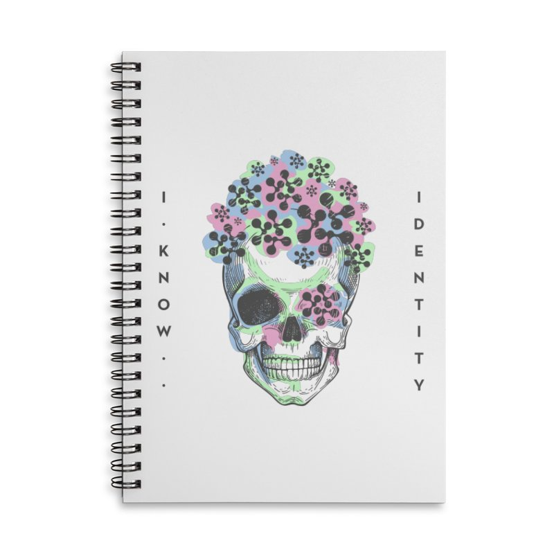The Devil You KNOW (Color) Accessories Lined Spiral Notebook by KNOW Identity