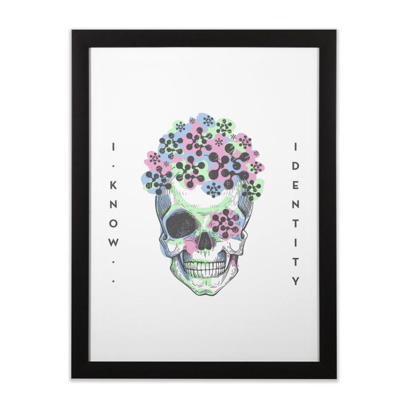 The Devil You KNOW (Color) Home Framed Fine Art Print by KNOW Identity