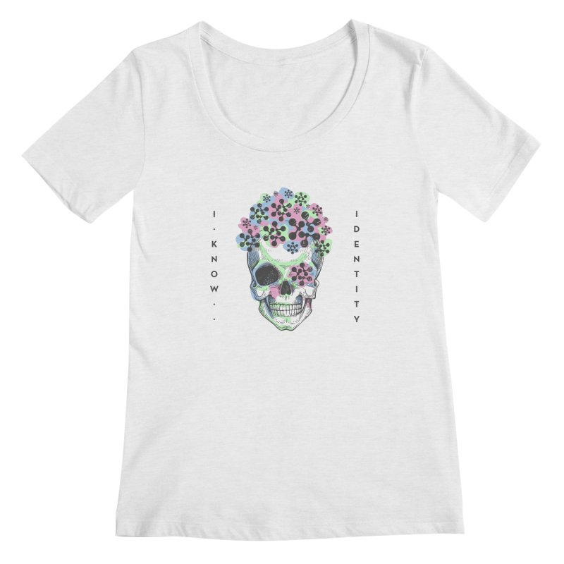 The Devil You KNOW (Color) Women's Regular Scoop Neck by KNOW Identity