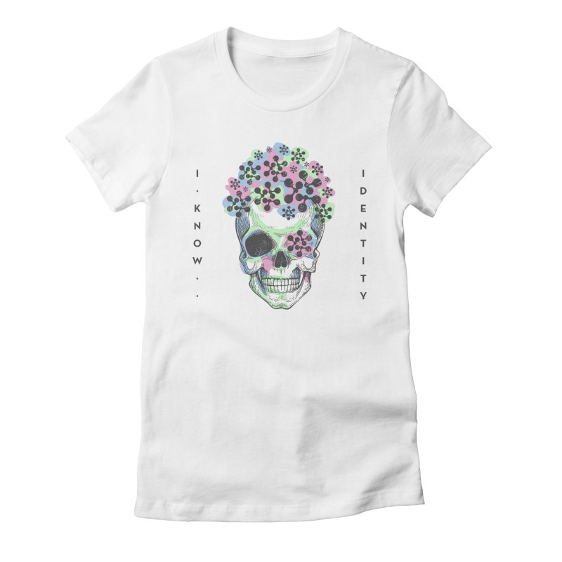 The Devil You KNOW (Color) Women's Fitted T-Shirt by KNOW Identity