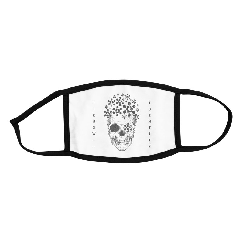 The Devil You KNOW (Black) Accessories Face Mask by KNOW Identity